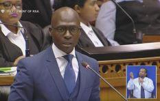 Most important aspects of Malusi Gigaba's 'mini-budget' speech