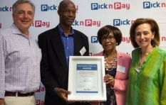 Mushroom farmer Peter Nyathi wins Pick n Pay Small Supplier of the Year Award