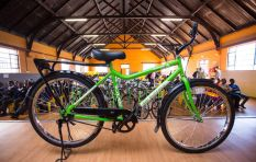 317 Schoolchildren Mobilised with Bicycles in Soweto
