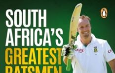"""South Africa's Greatest batsmen"" - A new book by Dr Ali Bacher"