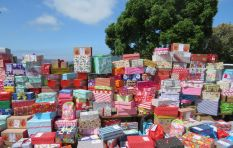 Customs charges Santa Shoebox project R500 per box for donated goods