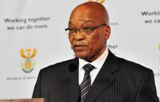 On a scale of one to ten, how likely is Zuma to step down?