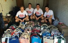 Four SACS matrics raise funds for 67 less fortunate school pupils