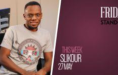 Siyabonga Metane aka Slikour 'redi' for #FridayStandIn
