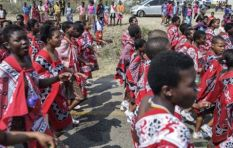 How the Swazi reed dance continued, despite the death of girls in an accident