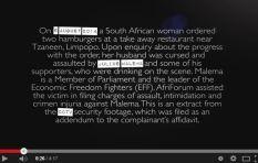 [VIDEO] Malema's Alleged Tzaneen Assault