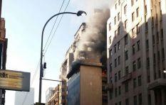 Premier David Makhura's office on fire