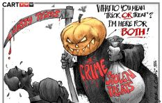 [CARTOON] Trick or Treat?