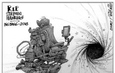 [CARTOON] Hawking goes beyond the Event Horizon