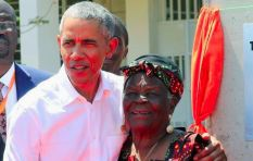 [WATCH] Barack boogies with his grandma in Kenya