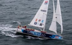 SA crew finishes second in Cape Town leg of round-the-world yacht race