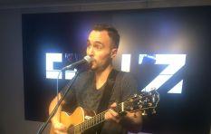 Jesse Clegg on air with Stacey
