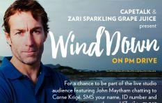 Former Springbok captain Corné Krige winds down with John Maytham