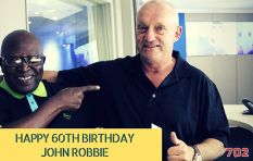 What day is it today? Oh yes, it's John Robbie's birthday!