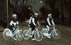 LifePaint helps make cyclists and pedestrians more visible at night
