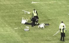 Stadium riot: 'It's just inexplicable and unacceptable by all means'