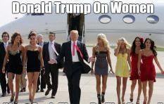 Record number of women to march the day after Mr Trump becomes Mr President