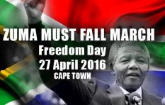 #ZumaMustFall movement calls on youth to join Freedom Day march