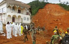Sierra Leone mudslide: Digging for survivors could stop