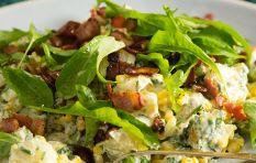 How to make bacon and corn potato salad (aka The Best Braai Side Ever)
