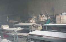 School torched near Vuwani