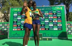 Kenyan couple that ran together, won together