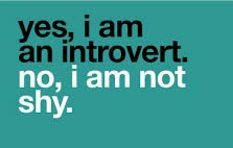 Being an introvert does not mean you are shy - psychologist