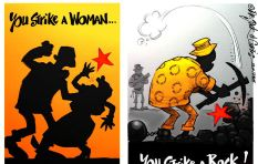 [CARTOON] When You Strike A Woman...