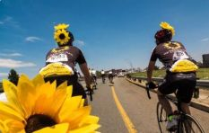 Sunflower riders spreading hope and light over 1500km