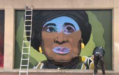 CT graffiti artist under fire for Winnie Madikizela-Mandela artwork