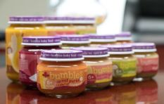 Bumbles makes nutritionally balanced baby food just any mom would