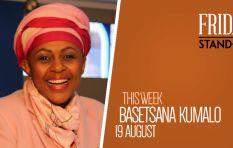 Television rockstar Basetsana Kumalo in Redi Tlhabi's hot seat
