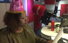 Trevor Noah sends Anele a birthday message!