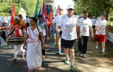 Walk for charity with Sir Ian Beefy Botham