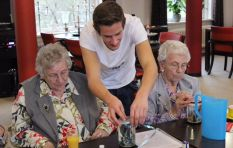 Dutch nursing home has students living there for free
