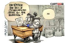 [CARTOON] Literally Illiterate