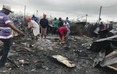 Hundreds destitute after Dunoon shack fire