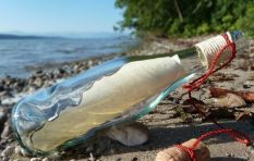 Message in a bottle found 12 years later