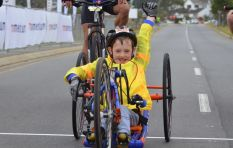 Disabled hand cyclist 'Zig Zag Zach' is a winner
