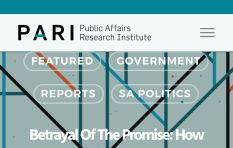 Betrayal of the Promise Report: Academics connect the dots of state capture