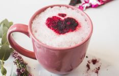 Winter warmer: Beetroot & Cacao Latte