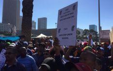 Telkom and SA Post office on strike