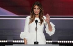 Melania Trump labelled a copy-cat after recycling Michelle Obama's old speech
