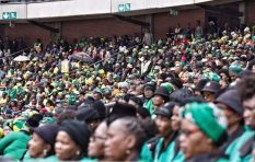 Emotional, jubilant crowd remember Mam'Winnie at Orlando Stadium