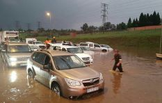 More rain expected tonight, Gauteng residents urged to stay alert
