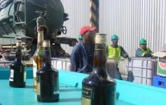 City of Cape Town pours  12 000 bottles of confiscated booze down the drain
