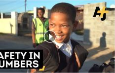 "How the ""Walking Bus"" keeps Cape Town kids safe"
