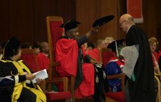 Inspiring 'ou toppie' bags his Master's at 71
