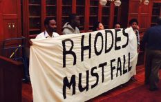 Rhodes Scholar 'shows the middle finger' to his legacy