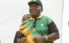 Cyril Ramaphosa arrives for ANC 106 celebrations